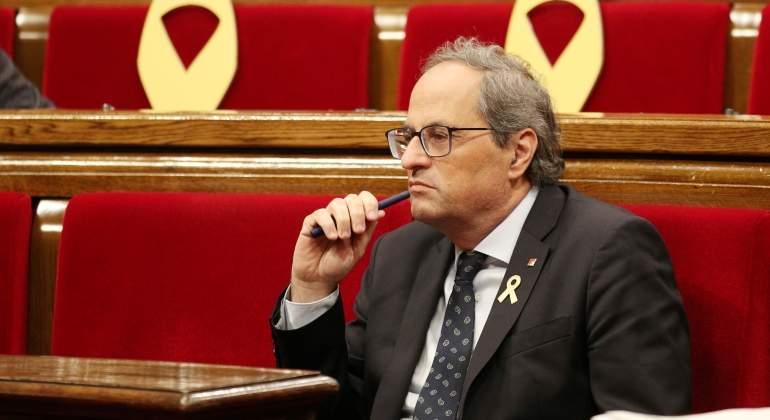 8532f990440 Torra advierte de que explicará la gravedad de la situación catalana en  todo el …