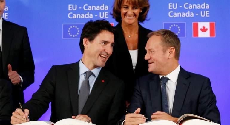 La Eurocámara da el primer paso para ratificar el acuerdo comercial entre la Unión Europea y Canadá (CETA)