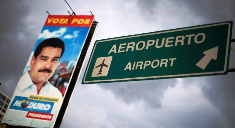 Aerolíneas anunció la suspensión de vuelos a Caracas