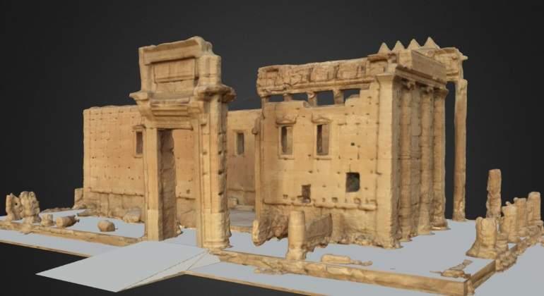 La reconstrucción virtual de Palmira: expertos reproducen las ruinas en 3D con imágenes antiguas
