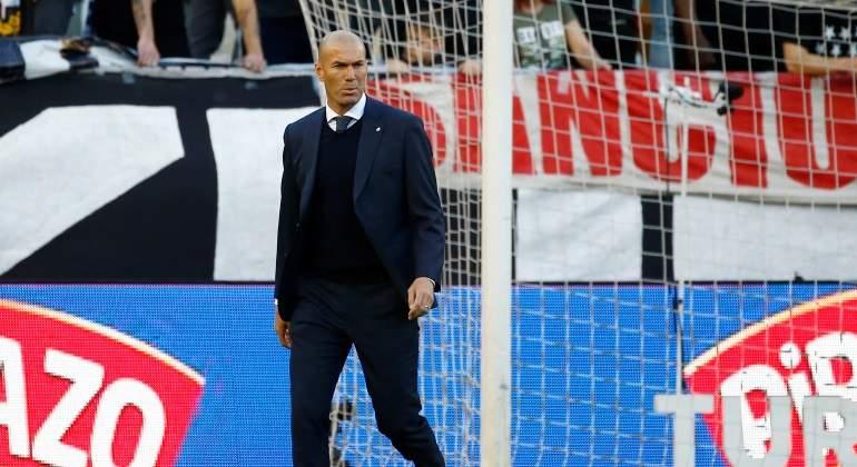 01ea3f3a6 El estallido de Zinedine Zidane por la agonía del Real Madrid 18/19