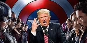 El nuevo enemigo de Los Vengadores: Donald Trump