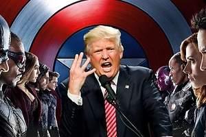 Los Vengadores, contra Trump