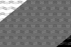 ¿Son curvas o zig-zags?