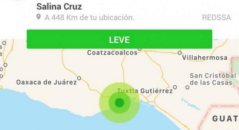 Sin daños tras sismo de 4.7 en Salinas Cruz, Oaxaca