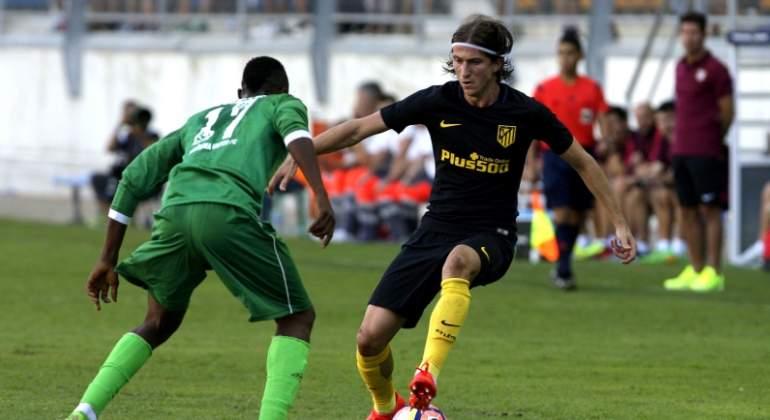 Filipe Luis se pierde el estreno del Atlético ante el Girona