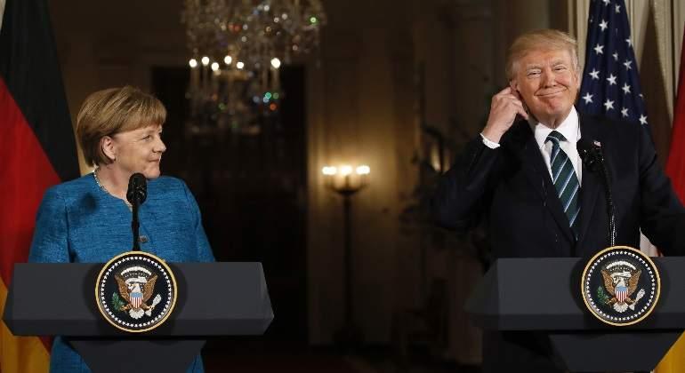 Merkel viaja a Washington