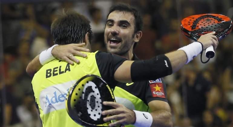 Los intratables Bela y Lima ganan su octavo título de la temporada de pádel en Sevilla