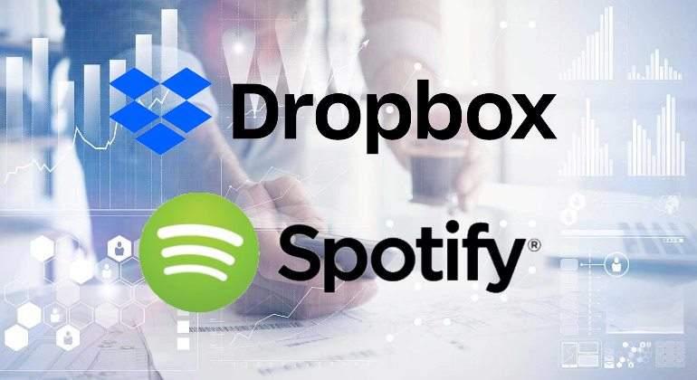 Acciones de Dropbox debutan con un alza del 38% en EEUU