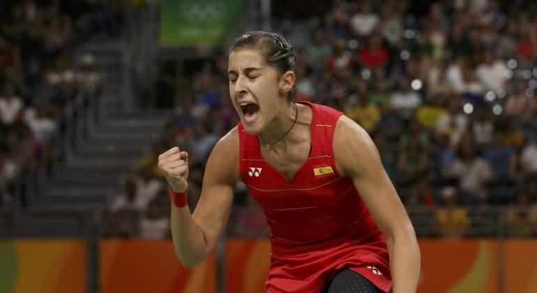 Carolina Marín se proclama campeona de Europa de bádminton por tercera vez