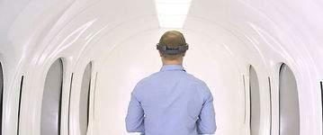 Muestran cómo será la cápsula de pasajeros de Hyperloop