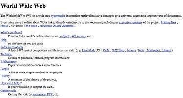 Se celebra el 25 aniversario de la primera página web de la historia