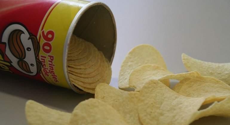 Patatas-Pringles. Imagen: Pixabay