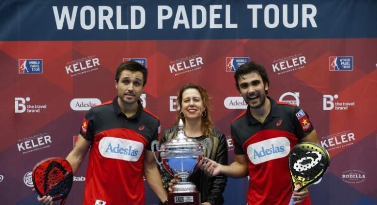 Bela y Lima conquistan el World Padel Tour de San Sebastián; las hermanas Sánchez Alayeto ganan en chicas
