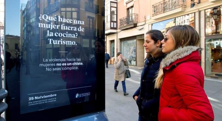 Chistes machistas en una polémica campaña contra la violencia de género del Ayuntamiento de Zamora