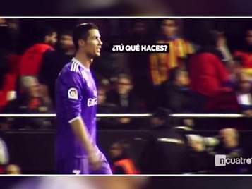 Cristiano Ronaldo y el destinatario de sus iras en Valencia