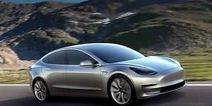Se filtra una nueva imagen del interior del Tesla Model 3