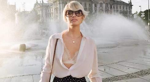 Adriana Abenia presume de trasero y lencería en Munich