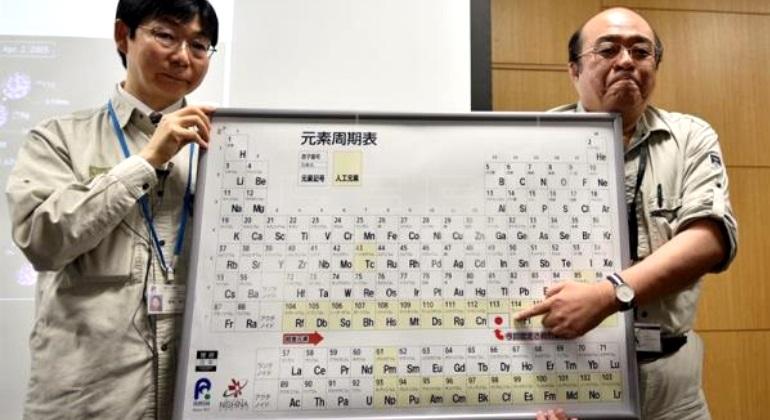 Los cientficos japoneses que hallaron el elemento 113 de la tabla los cientficos japoneses que hallaron el elemento 113 de la tabla peridica quieren llamarlo japonio ecodiario urtaz Image collections