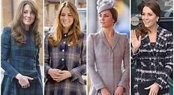 Kate Middleton: cuatro abrigos retro que son tendencia hoy
