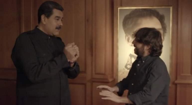 Maduro a Évole: ¿Dictadura? Eso es llegar en 1492 a quitar las tierras a los indios