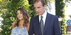 Lequio y María Palacios, padres de su primera hija