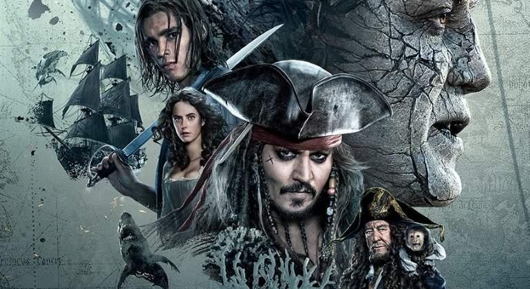 Los Piratas del Caribe se apoderan de la cartelera