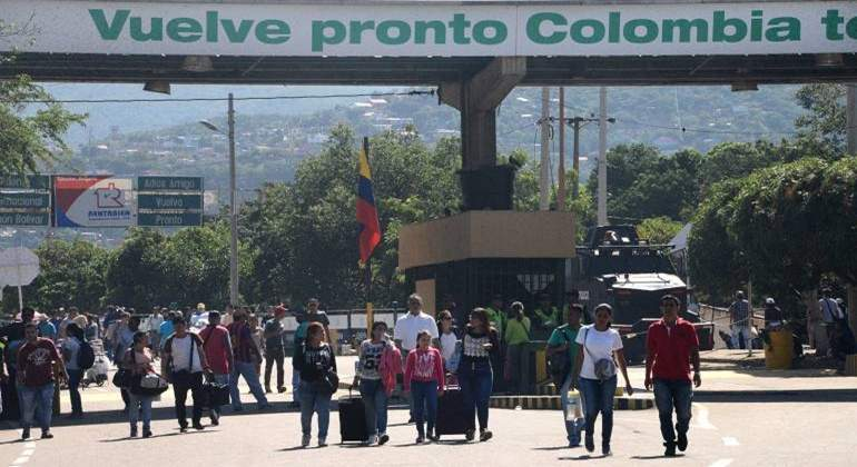 venezolanos-frontera