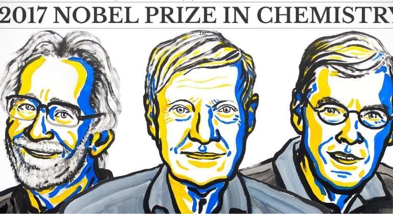 El Nobel de Química 2017 fue para tres europeos investigadores de biomoléculas