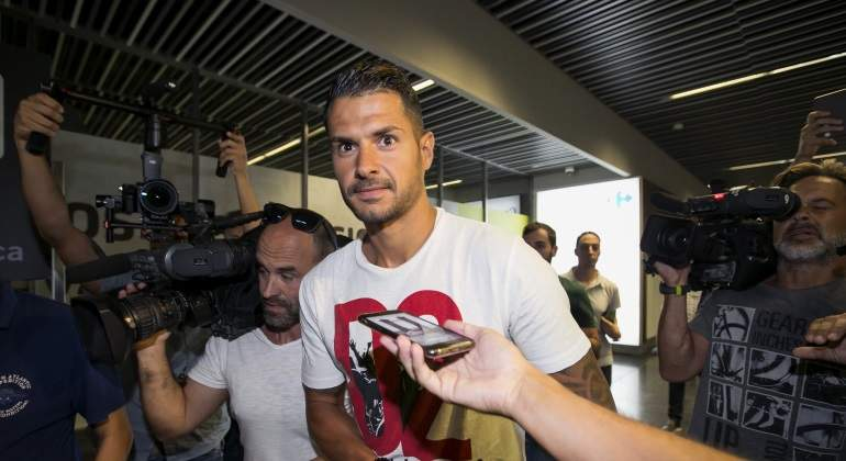 Vitolo no jugará ante el Atlético por la cláusula de cortesía