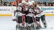 Un equipo de hockey patrocinado por Abanca