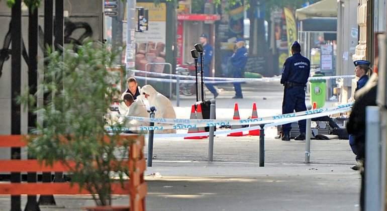 La Policía húngara sospecha que la explosión en Budapest buscaba herir a agentes