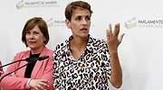 María Chivite pide en su investidura el rechazo explícito a ETA y promete trabajar por la memoria histórica reciente