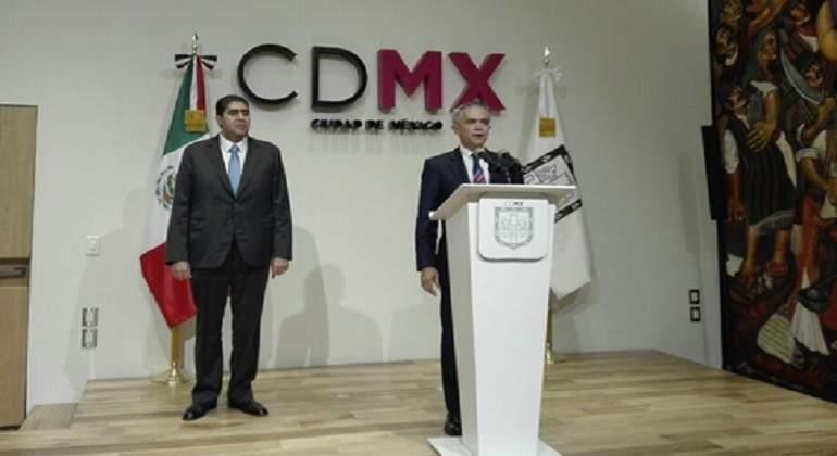 Edmundo Garrido, nuevo titular de la PGJ-CDMX