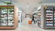 Vista del nuevo supermercado de Consum EE