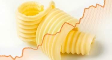 Europa tiene un problema con la mantequilla: las reservas se han derretido