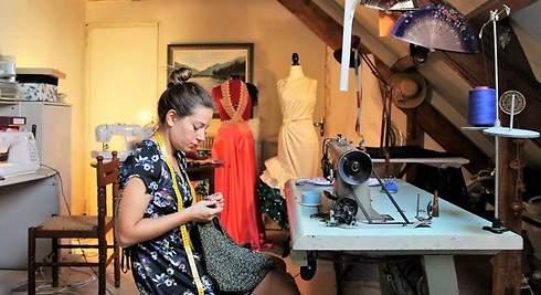 La parisina que diseña moda flamenca