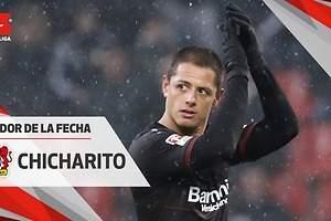 Chicharito, Jugador de la Semana en Bundesliga