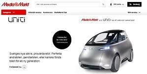 Uniti One: así es el coche eléctrico que ya vende MediaMarkt