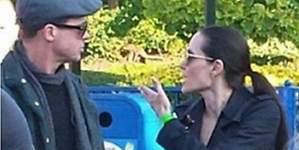 Pitt y Angelina: las imágenes de su última discusión