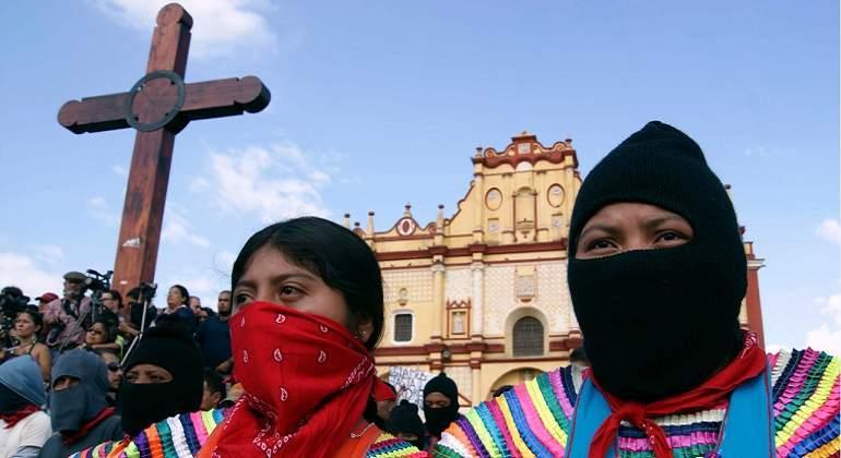 Desde abajo y la izquierda podemos reconstruir México: Congreso Indígena