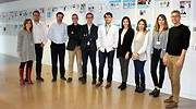 Integrantes de los equipos seleccionados y responsables del programa Corporate de Ribera Salud en Lanzadera EE