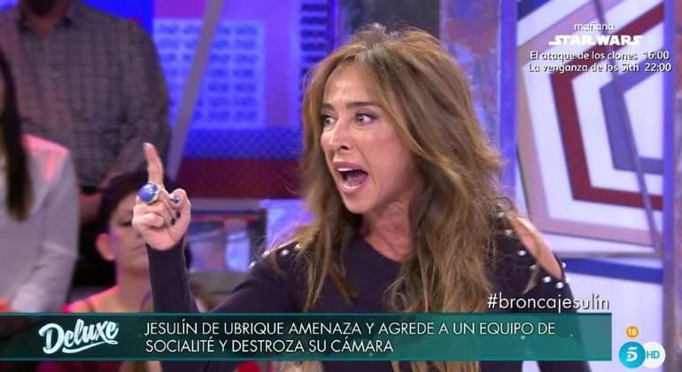 María Patiño explota contra Diego Arrabal: ¡Hasta las narices estoy!
