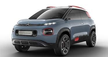 Citroën C-Aircross Concept: nueva ofensiva SUV inspirada en el C3