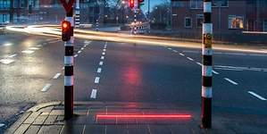 Holanda también protege a los zombis del móvil: así son sus nuevos semáforos