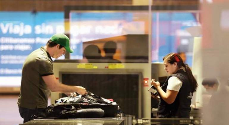 Revisión de equipaje de mano se intensificará a partir de mañana