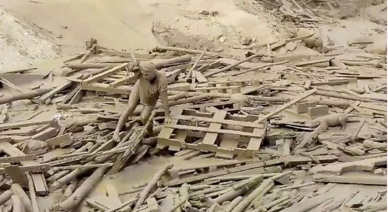 Inundaciones en Perú llegan al Palacio de Gobierno: PPK tuvo que evacuar