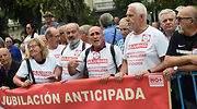 Los pensionistas vuelven a protestar a las puertas el Congreso y cortan la Carrera de San Jerónimo