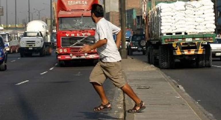 Ocurren en la mañana el 35 por ciento de los atropellamientos fatales