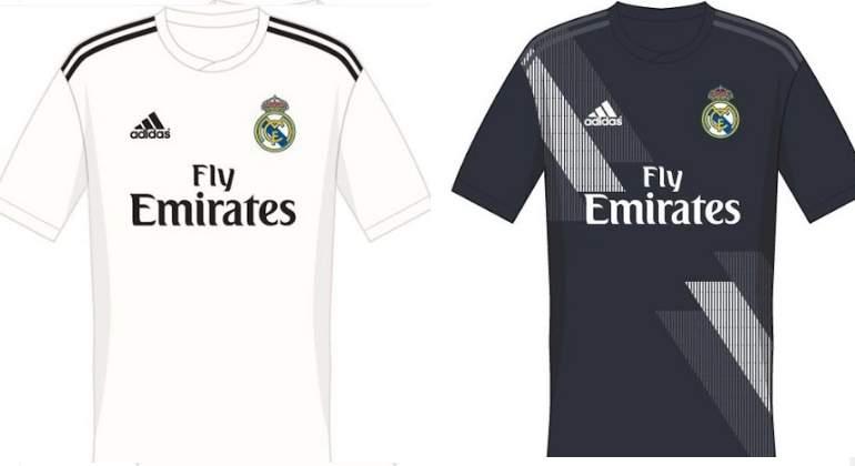 Filtran las camisetas del Real Madrid 18-19